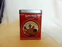 Swiss Miss Hot Cocoa Mix Caramel Cream  Metal Tin For Candy, Trinkets EMPTY