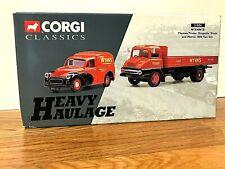 Corgi Heavy Haulage WYNNS Thames Trader Dropside & Morris 1000 Van LTD Edition