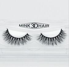 100% 3D Real Mink Hair Natural Thick Makeup Eye Lashes False Eyelashes A15-3D