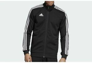 Adidas Tiro 19 Jacket Climalite Training Black White Soccer DJ2594 Men's LARGE