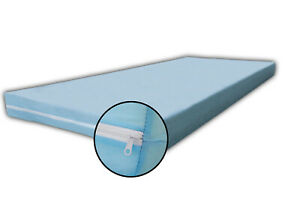 Matratzenbezug Matratzenhülle Überzug Vlies blau 90x200 Höhe 12