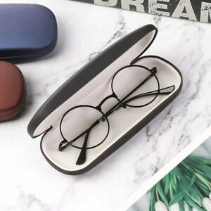 2x Black case cover for eye-wear reading sunglasses spectacle magnifier eyeglass