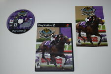 Breeders Cup World Thoroughbred Championships Playstation 2 PS2 Game Complete