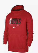 Mens Chicago Bulls Nike Spotlight Practice Performance Pullover Hoodie NWT Small