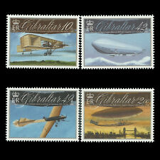 Gibraltar 2010 - Aviation Anniversaries - Sc 1239/42 MNH