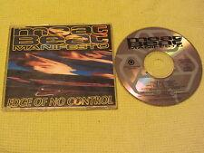 Meat Beat Manifesto Edge Of No Control 1992 CD Single (BIAS 222 CD)