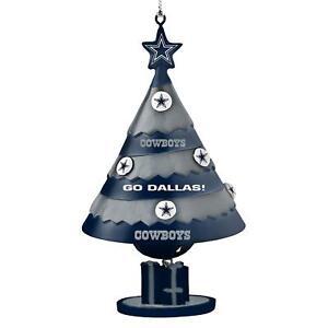 Dallas Cowboys Football Team Logo NFL Holiday Christmas Tree Bell Ornament