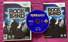 Rock Band Nintendo Wii Game Only New Not Sealed