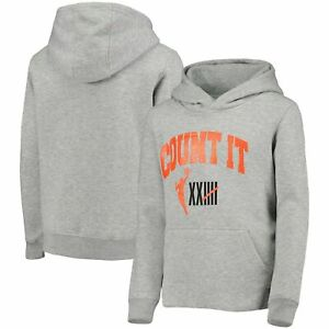 WNBA Girls Youth 25th Anniversary Count It Pullover Hoodie - Heathered Gray