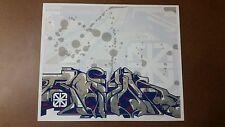 Revok MSK Saber Tag Graffiti Street Art Poster Print Mad Society Kings
