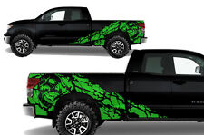 Vinyl Decal Nightmare Wrap Kit for Toyota Tundra TRD Parts 2007-2013 Grass Green