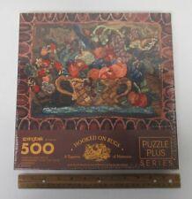 Springbok (1996) Hallmark 500 Piece Puzzle Plus NEW SEALED HOOKED ON RUGS yz5055