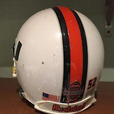 Miami Hurricanes Game Used Helmet - Tavares Gooden