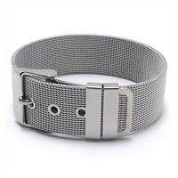 Schmuck Damen Armband, Edelstahl Armreif, Silber GY