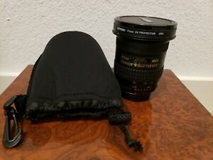 Nikon AF Nikkor 18-35mm F/3.5-4.5D ED with uv filter. Mint