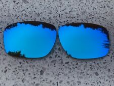 POLARIZED ICE BLUE CUSTOM MIRRORED REPLACEMENT OAKLEY SLIVER LENSES