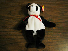 1997 TY BEANIE BABY--FORTUNE THE PANDA--AGE 3 AND UP--BOYS AND GIRLS