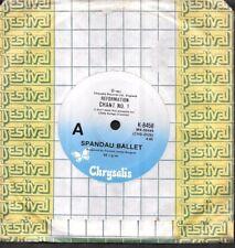 "SPANDAU BALLET - Reformation Chant No 1 / Feel The Chant  - 1981 7"" single 45rpm"