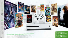 Microsoft - Xbox One S Starter Bundle 1024gb WiFi blanco