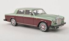 Rolls Royce Silver Shadow II RHD 1978 Light Green / Dark Red 1:43