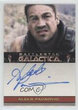 2006 Autographs #ALPA Aleks Paunovic as Omar Fischer Auto Non-Sports Card b6s