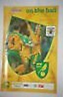 Norwich V Burnley Programa 12th Abril 2003