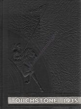 College Yearbook Hood College Frederick Maryland MD Touchstone 1935