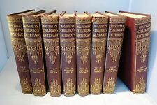 The Waverley Children's Dictionary Edited Harold Wheeler 8 volumes vintage 1930s