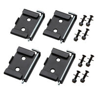 Rockler Quick-Release Workbench Caster Plates 4 pack 70 X 95mm (2-3/4 3-3/4'')