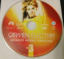 Carmen Electra's Advanced Aerobic Striptease Workout Dvd.*Disc Only* Fs, Nt.