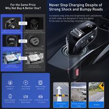 Bluetooth5.0 FM Transmitter Auto MP3 Player USB KFZ AUX Freisprechanlage DE