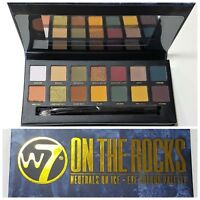 W7 On the Rocks Neutrals On Ice Eye Shadow Colour Palette