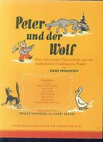 Serge Prokofieff - Peter und der Wolf - SUITE LEICHTER kLAVIERSTÜCKE