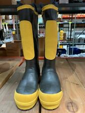Black Diamond Rubber Fire Fighter Boots Model 690-9451