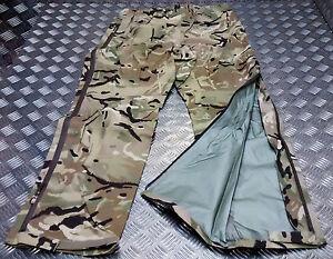 Genuine British Army MTP Lightweight Waterproof Breathable Trousers MVP  - NEW