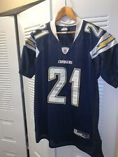 LaDianian Tomlinson Authentic San Diego Chargers Jersey Sz 50 Dark Blue Auto?