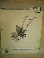 Bolens Tiller In Lawn Mower Parts