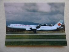AIR CANADA  AIRBUS A 340 313X  C-GDVZ  /  collection vilain N° 1045