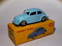 Volkswagen coccinelle / beetle ref 181 au 1/43 de dinky toys atlas