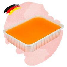 (24,75€/kg) Spa Paraffin Wachs Schale 400g Orangen Duft Bad Block Maniküre Nägel