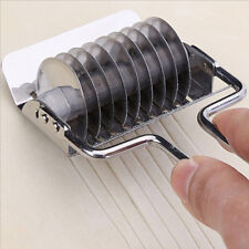 Stainless Steel Roller Bake Cutter Slicer Dough Noodles Bread Pie Pastry Lattice