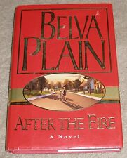 AFTER THE FIRE by Belva Plain ~ 2000 HC/DJ  ~ 1st Edition 1st Printing