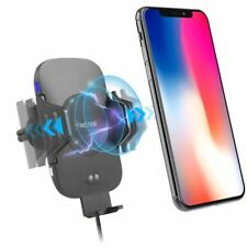 Auto Open Wireless Charger Car Mount Phone Holder For iPhone X/XS/XS Max/XR/8