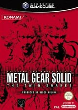 METAL GEAR SOLID THE TWIN SNAKES GAMECUBE GAME PAL