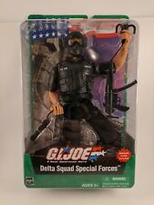 G I Joe Delta Squad Special Forces With Mission Card Toy Figure Hasbro 2003