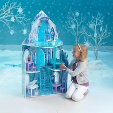 Disney Frozen Princess Elsa Ice Castle Dollhouse KidKraft Fits Barbie Sized Doll