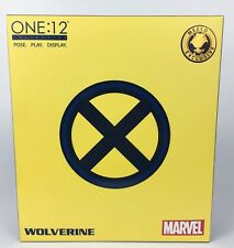 Mezco One:12 NYCC Tiger Stripe Wolverine  Pre-owned   FREE SHIPPING!