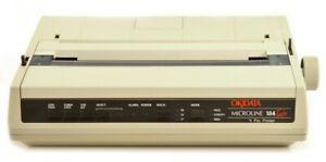 Okidata Microline 184 Turbo Parallel Dot Matrix Impact Printer IBM Emulation
