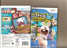 RAVING RABBIDS TV PARTY NINTENDO WII RAYMAN RABBITS MINI GAMES