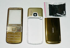 Gold Housing Cover Fascia facia case for Nokia 6700C 6700 Classic faceplate